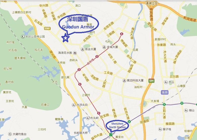 Gudoun Armor Address Map