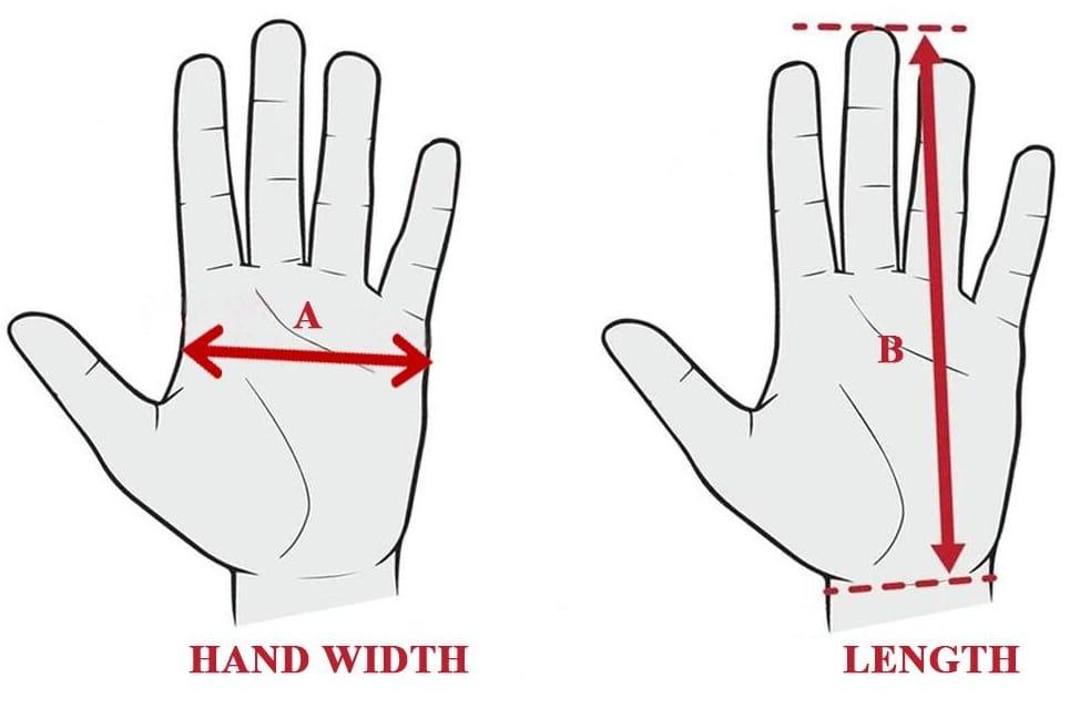 Hand Glove Size Measuring