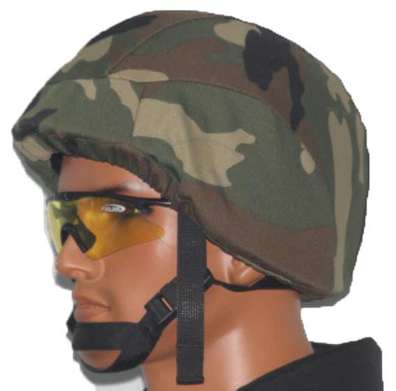 PASGT Bulletproof Helmet Woodland cover
