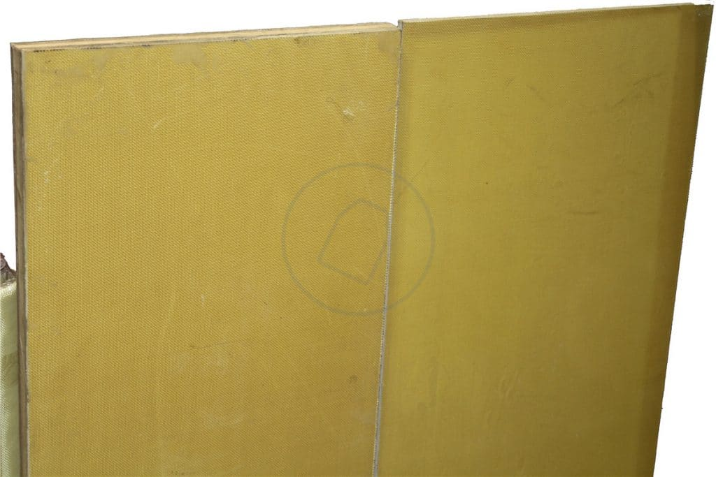aramid fabric panel