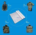 guodun armor bulletproof vest and fabric